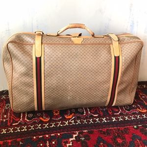 Gucci Luggage - Vintage 1980's - Large